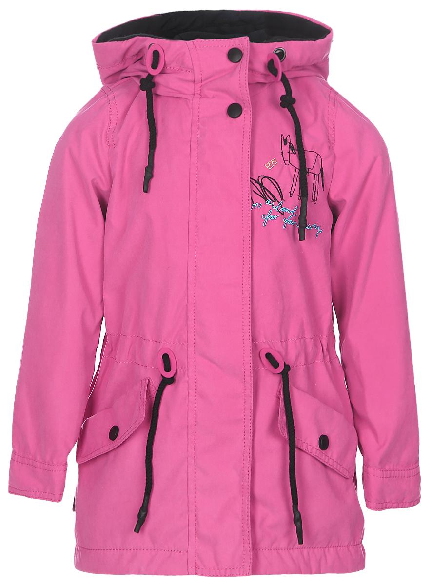 Парка для девочки Boom!, цвет: розовый. 70292_BOG_вар.3. Размер 98, 3-4 года парка для девочки boom цвет бирюзовый 70002 bog вар 1 размер 122 7 8 лет