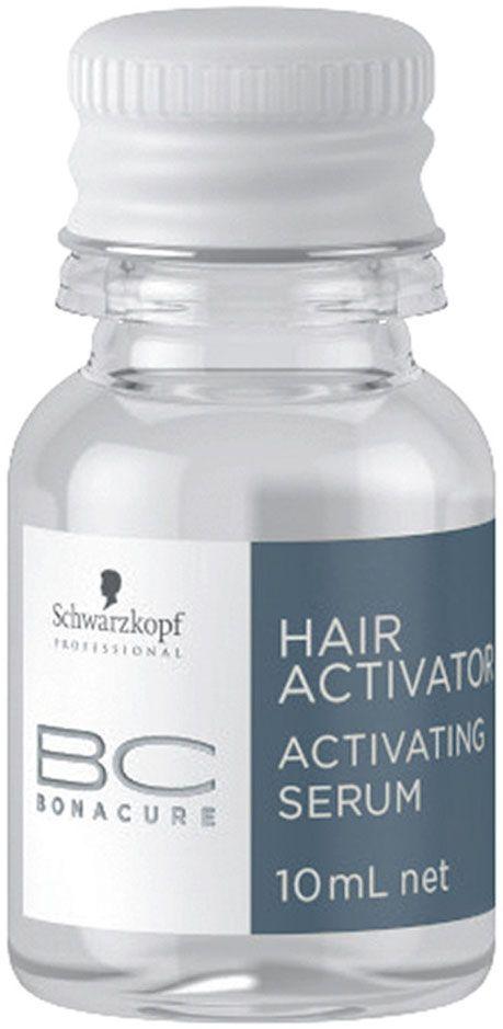 Bonacure Сыворотка, активизирующая рост волос Hair Activator Serum 7х10 мл1800726Активирующая сыворотка для редеющих волос. Формула с патенолом восстанавливает баланс влаги кожи головы и удерживает его. Питает волосяные луковицы предотвращая выпадение. Для достижения максимального результата рекомендуется использовать с шампунем и тоником BC Hair Activator
