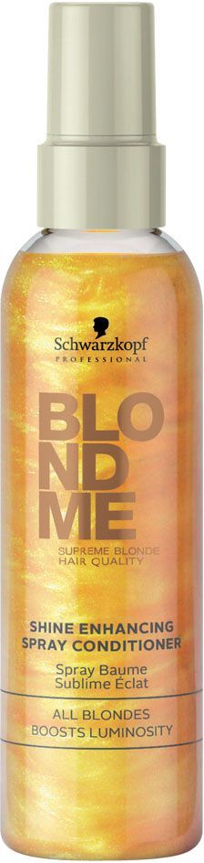 Blondme Кондиционер-спрей для усиления блеска Blondme Spray Conditioner All Blondes 150 мл шампунь schwarzkopf blondme color enhancing blonde shampoo all blondes light smoothing care объем 250 мл