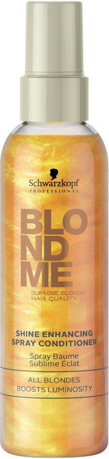 Blondme Кондиционер-спрей для усиления блеска Blondme Spray Conditioner All Blondes 150 мл1814635БлондМи Кондиционер-спрей для усиления блеска. Подчеркивает и обогащает любые оттенки блонд. Содержит защитные УФ-фильтры.