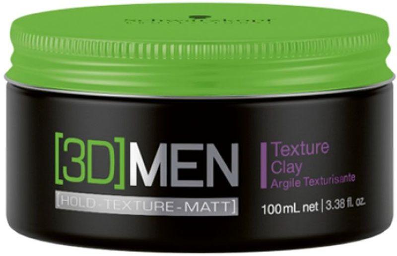 [3D]Men Текстурирующая Глина Texture Clay 100 мл1853305Текстурирующая глина. Для мужчин. Сильная фиксация. Подвижная текстура для небрежных укладок. Матовый эффект.