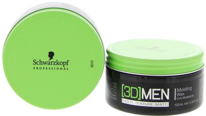 [3D]Men Формирующий воск Molding Wax 100 мл1853320Крем-воск для эластичной укладки. Для мужчин. Позволяет перечесывать и обновлять укладку. Придает волосам натуральный блеск.