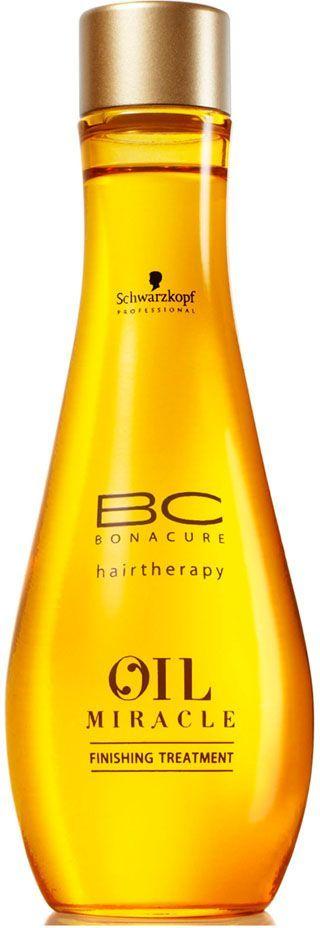 Bonacure Масло для жестких и толстых волос Oil Miracle treatment 100 мл1966891Масло для жестких волос. Обогащенная формула с аргановым маслом питает волосы и придает им вохитительный блеск, делает жесткие волосы более послушными. Рекомендуется использовать в комплексе с шампунем для жестких волос BC Oil Miracle.