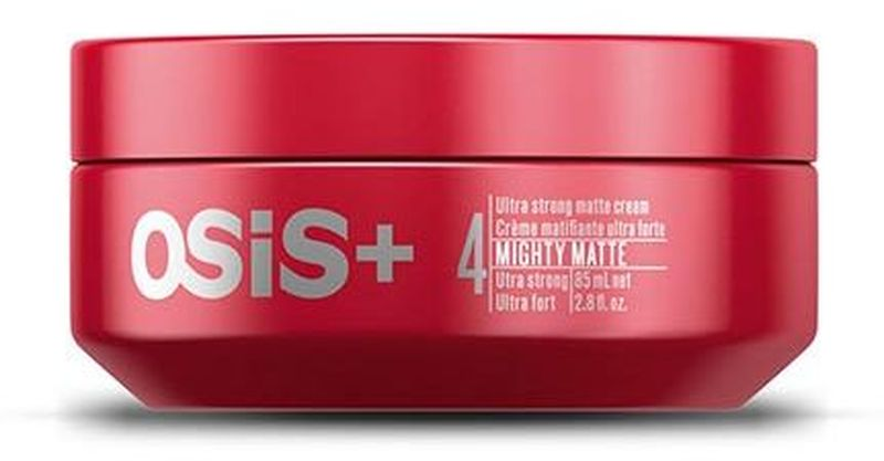 OSiS+ Ультрасильный матирующий крем для волос Mighty Matte 85 мл1970948Матирующий крем. Выраженный матовый эффект, экстремальная фиксация и сухой результат. Четкая текстура и разделение, длительный контроль укладки.