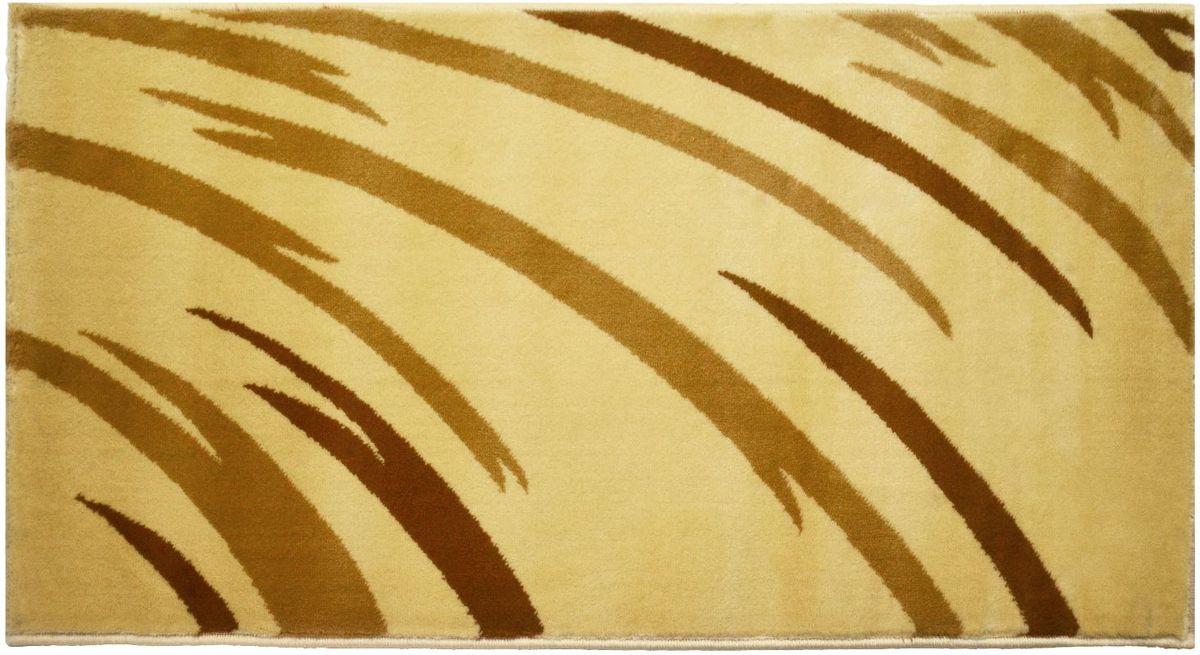 Ковер Kamalak Tekstil, 80 х 150 см. УК-0562УК-0562Ковер Kamalak Tekstil изготовлен из прочного синтетического материала heat-set, улучшенного варианта полипропилена (эта нить получается в результате его дополнительной обработки). Полипропилен износостоек, нетоксичен, не впитывает влагу, не провоцирует аллергию. Структура волокна в полипропиленовых коврах гладкая, поэтому грязь не будет въедаться и скапливаться на ворсе. Практичный и износоустойчивый ворс не истирается и не накапливает статическое электричество. Ковер обладает хорошими показателями теплостойкости и шумоизоляции. Оригинальный рисунок позволит гармонично оформить интерьер комнаты, гостиной или прихожей. За счет невысокого ворса ковер легко чистить. При надлежащем уходе синтетический ковер прослужит долго, не утратив ни яркости узора, ни блеска ворса, ни упругости. Самый простой способ избавить изделие от грязи - пропылесосить его с обеих сторон (лицевой и изнаночной). Влажная уборка с применением шампуней и моющих средств не противопоказана. Хранить рекомендуется в свернутом рулоном виде.