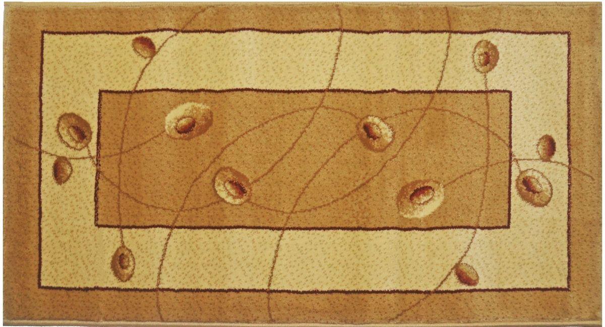Ковер Kamalak Tekstil, 60 х 110 см. УК-0578УК-0578Ковер Kamalak Tekstil изготовлен из прочного синтетического материала heat-set, улучшенного варианта полипропилена (эта нить получается в результате его дополнительной обработки). Полипропилен износостоек, нетоксичен, не впитывает влагу, не провоцирует аллергию. Структура волокна в полипропиленовых коврах гладкая, поэтому грязь не будет въедаться и скапливаться на ворсе. Практичный и износоустойчивый ворс не истирается и не накапливает статическое электричество. Ковер обладает хорошими показателями теплостойкости и шумоизоляции. Оригинальный рисунок позволит гармонично оформить интерьер комнаты, гостиной или прихожей. За счет невысокого ворса ковер легко чистить. При надлежащем уходе синтетический ковер прослужит долго, не утратив ни яркости узора, ни блеска ворса, ни упругости. Самый простой способ избавить изделие от грязи - пропылесосить его с обеих сторон (лицевой и изнаночной). Влажная уборка с применением шампуней и моющих средств не противопоказана. Хранить рекомендуется в свернутом рулоном виде.