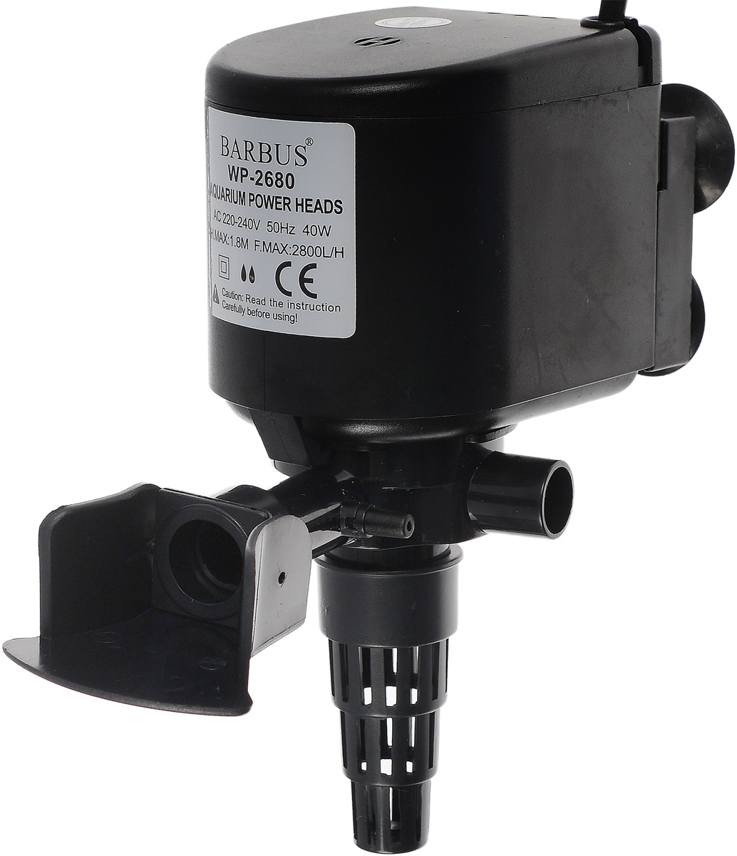Помпа для аквариума Barbus  PUMP 006 , водяная, 2800 л/ч, 40 Вт