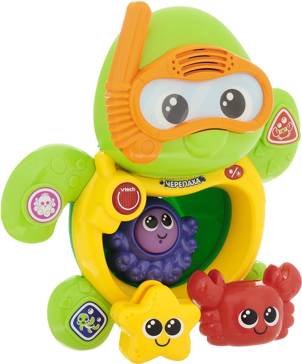 Vtech Игрушка для ванной Черепаха игрушки для ванны vtech игрушка для купания плавающая черепаха 80 113426