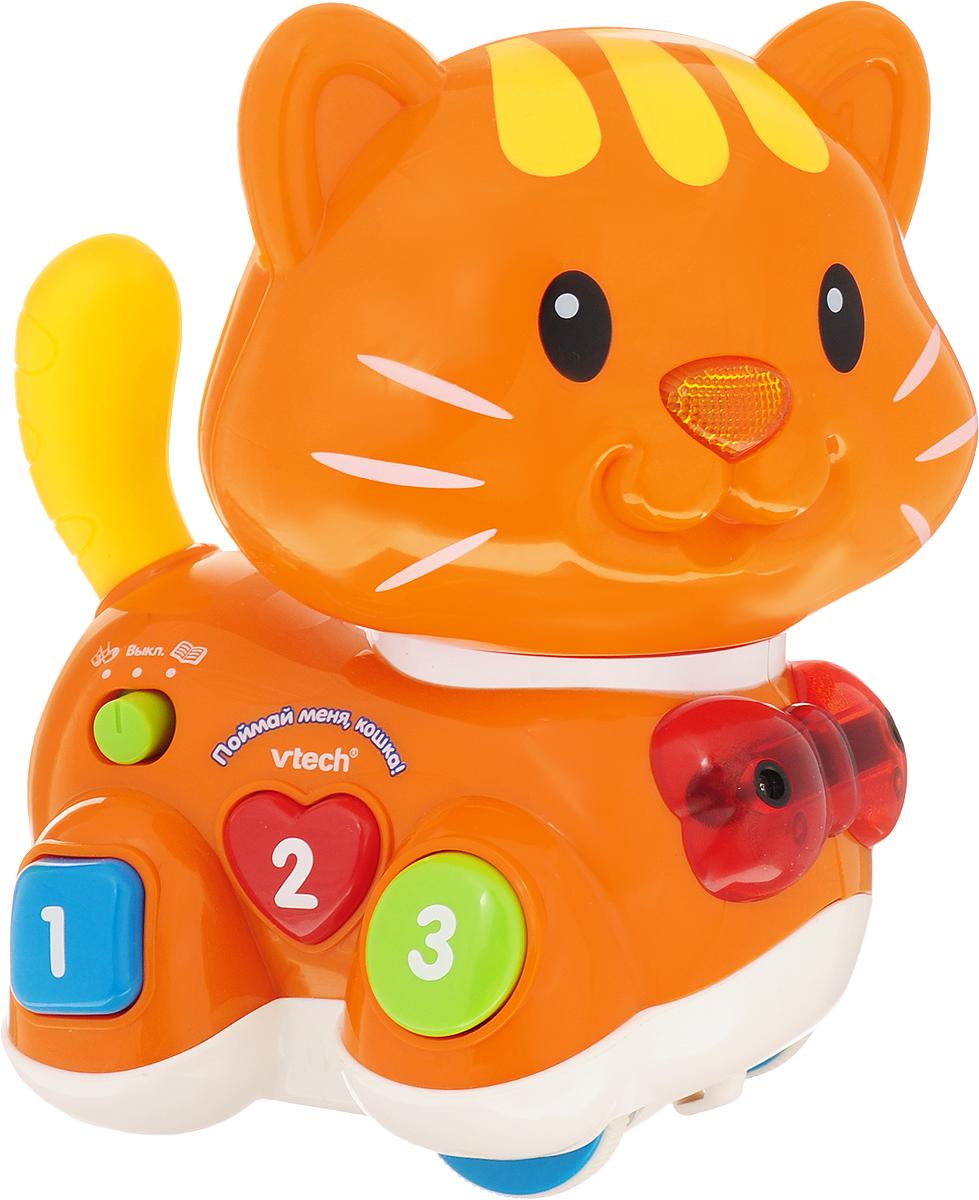 Vtech Развивающая игрушка Поймай меня, кошка! vtech развивающая игрушка обучающий корабль
