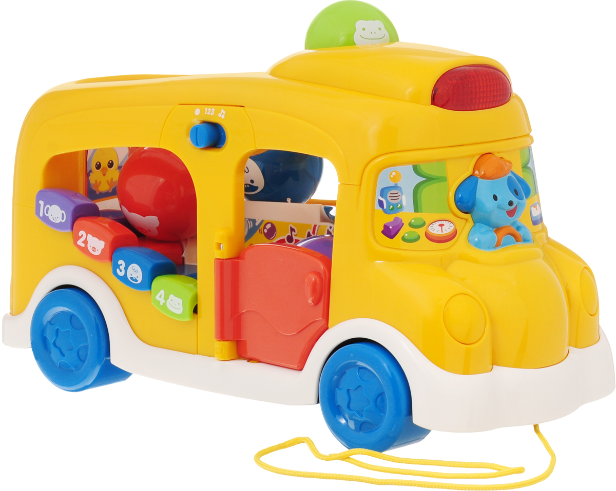 Vtech Развивающая игрушка Школьный автобус vtech развивающая игрушка обучающий корабль