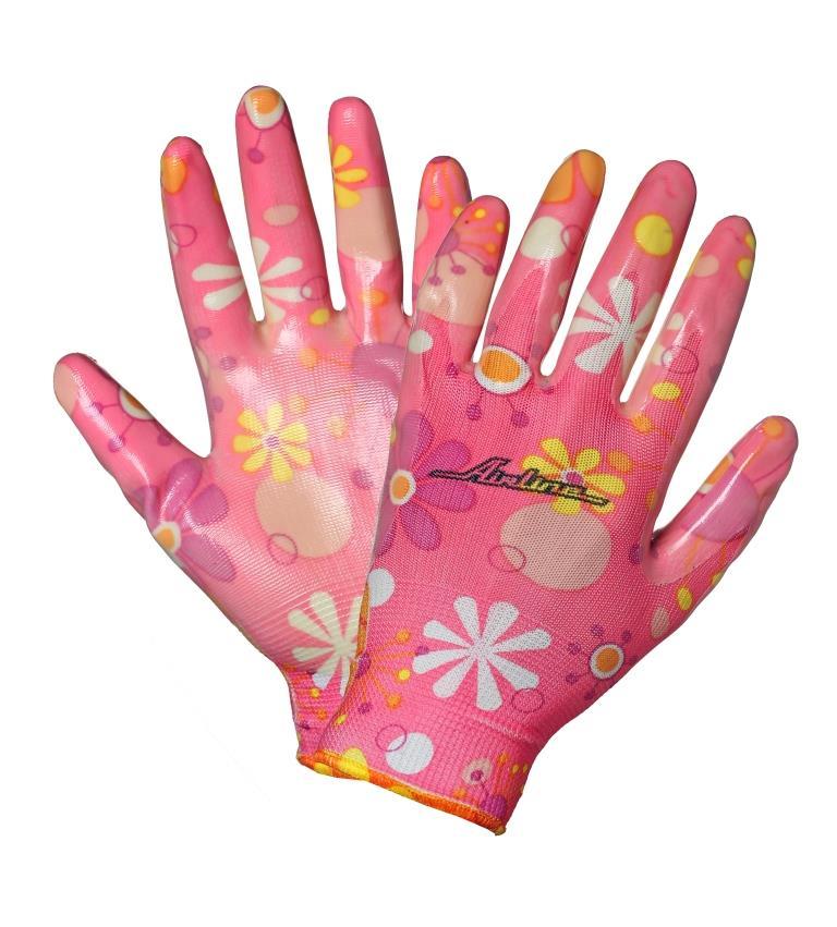 Перчатки хозяйственные Airline, нейлоновые, с полиуретановым покрытиемAWG-C-04Хозяйственные перчатки Airline позволяют обеспечить защитурук при выполнении большинства бытовых илипроизводственных работ. Преимущества: - защита рук от механических повреждений; - высокая чувствительность для работы с мелкими деталями.