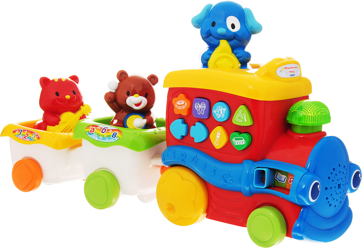 Vtech Развивающая игрушка Музыкальный поезд vtech развивающая игрушка обучающий корабль