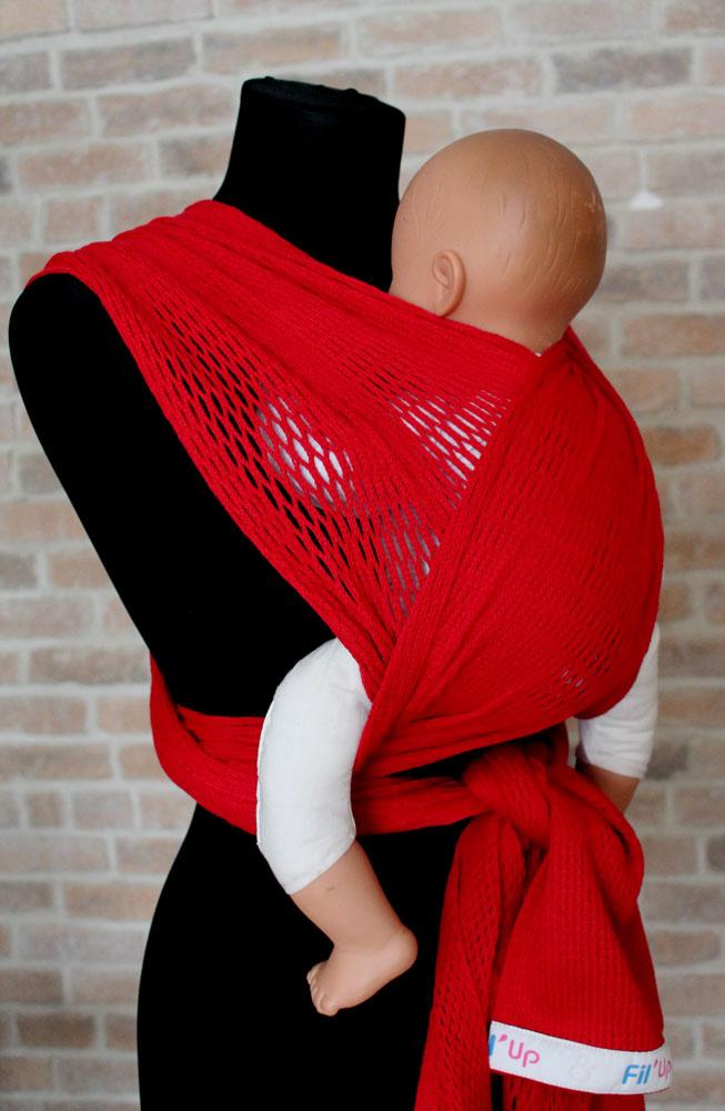 Filt Слинг-шарф Fil'Up Rouge размер L-XL - Рюкзаки, слинги, кенгуру