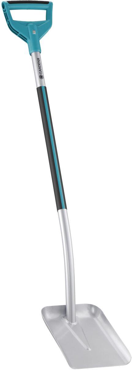 Лопата Gardena Terraline, совковая, универсальная, длина 135 см лопата gardena terraline 3773 03773 24 000 00