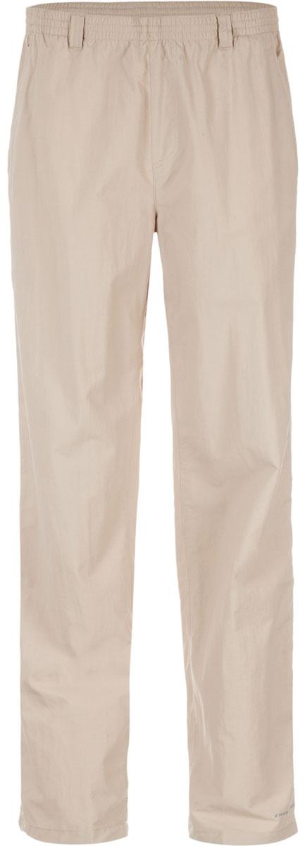 Брюки туристические мужские Columbia Backcast Pant Mens Pants, цвет: бежевый. 1543961-160. Размер S (44/46)1543961-160Мужские брюки Columbia из быстросохнущего нейлона подойдут для горного туризма. Легкий материал обеспечивает превосходный воздухообмен. Регулируемый эластичный пояс обеспечивает удобную индивидуальную посадку. Технология Omni-Shade блокирует вредное солнечное излучение. Модель дополнена четырьмя карманами.