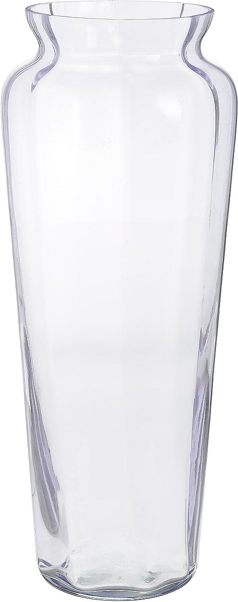 Ваза NiNaGlass Диана, цвет: лаванда, высота 38 см90-045_прозрачный, лавандаВаза NiNaGlass Диана, выполненная из высококачественного стекла, имеет изысканный внешний вид. Такая ваза станет ярким украшением интерьера и прекрасным подарком к любому случаю.Не рекомендуется мыть в посудомоечной машине.Высота вазы: 38 см.Диаметр вазы (по верхнему краю): 12 см.