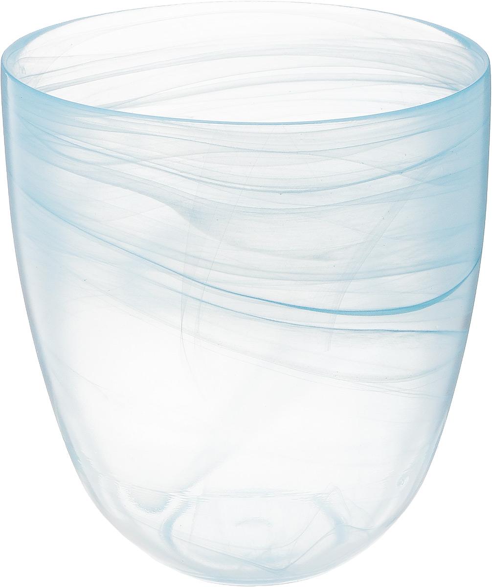 Кашпо NiNaGlass, цвет: прозрачный, голубой, высота 18 см93-027_прозрачный, голубойКашпо NiNaGlass имеет уникальную форму, сочетающуюся как с классическим, так и с современным дизайном интерьера. Оно изготовлено из высококачественного стекла и предназначено для выращивания растений, цветов и трав в домашних условиях. Кашпо NiNaGlass порадует вас функциональностью, а благодаря лаконичному дизайну впишется в любой интерьер помещения. Диаметр кашпо (по верхнему краю): 16 см.Высота кашпо: 18 см.