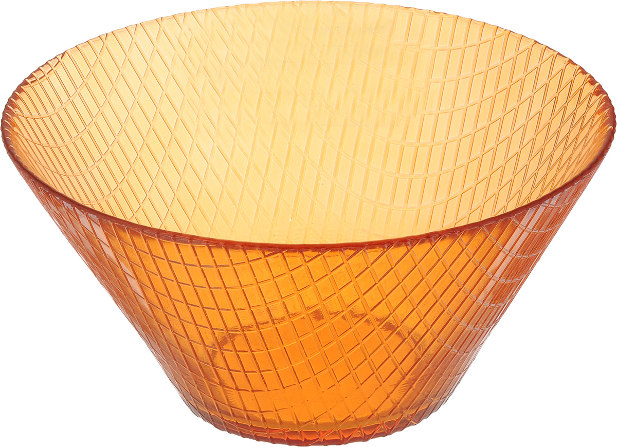 Салатник NiNaGlass Тэри, диаметр 17 см83-031-Ф170 ОРЖСалатник NiNaGlass Тэри выполнен извысококачественного стекла и имеет рельефную поверхность. Он прекрасно впишется в интерьервашей кухни и станет достойным дополнением ккухонному инвентарю. Не рекомендуется использовать вмикроволновой печи и мыть в посудомоечноймашине.Диаметр салатника (по верхнему краю): 17 см.Высота салатника: 8,5 см.