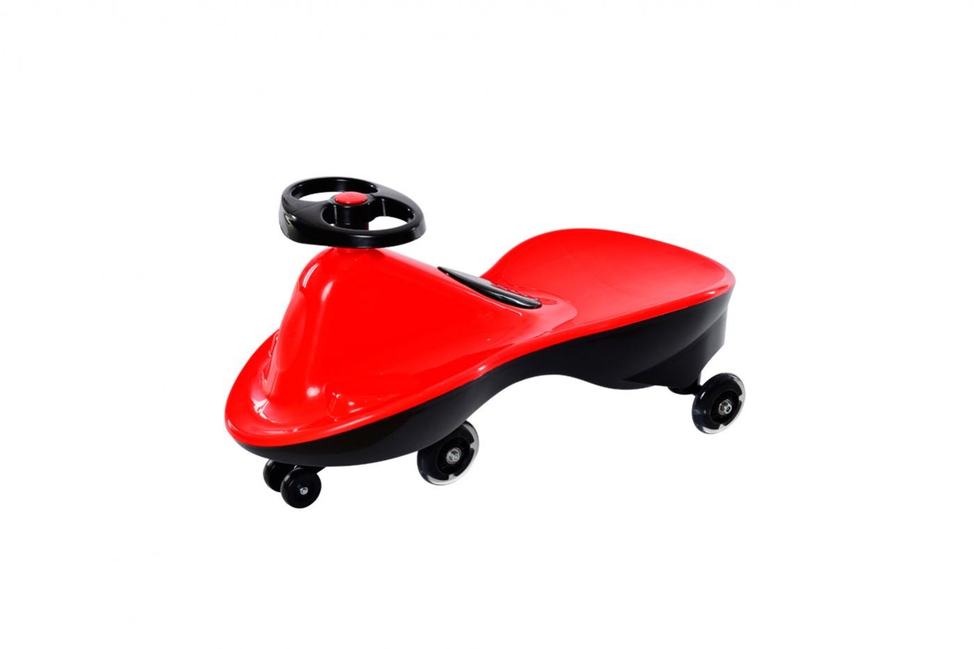 Bradex Машинка детская Бибикар Спорт с полиуретановыми колесами цвет красный -  Каталки, понициклы