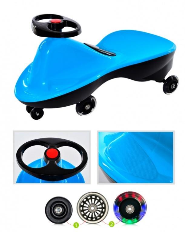 BradexМашинка детская Бибикар Спорт с полиуретановыми колесами цвет голубой • Продуманная конструкция делает поездки безопасными. • Изделие...