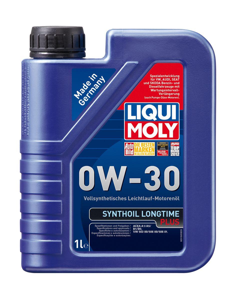 Масло моторное Liqui Moly Synthoil Longtime Plus, синтетическое, 0W-30, 1 л1150Масло моторное Liqui Moly Synthoil Longtime Plus - специальный продукт для автомобилей VW с двигателями R5 TDI и V10 TDI выпуска до 06.2006 (для других двигателей - Top Tec 4200). 100% ПАО-синтетическое всесезонное масло, специально разработанное под особые требования Volkswagen Group. Подходит для использования в бензиновых и дизельных автомобилях с турбонаддувом и без него. Значительно снижает расход топлива и одновременно повышает ресурс двигателя. Комбинация синтетической базы и передовых технологий в области разработок присадок гарантирует низкую вязкость масла при низких температурах, высокую надежность масляной пленки. Масло предотвращает образование отложений в двигателе, снижает трение и защищает от износа. Особенности: - Очень высокие показатели по экономии топлива- Быстрое поступление масла к деталям двигателя при низких температурах- Отличная чистота двигателя- Очень высокая защита от износа и надежность смазывания- Снижает потери на трение в двигателе- Очень низкие потери масла на испарение- Оптимизировано для турбодизельных двигателей VW R5 TDI и V10 TDI выпуска до 06.2006Допуск: -ACEA: A1/B1/A5/B5Соответствие: -VW: 503 00/506 00/506 01