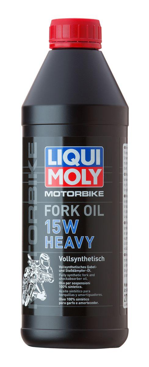 Купить Масло для вилок и амортизаторов Liqui Moly Motorbike Fork Oil Heavy , синтетическое, 15W, 1 л