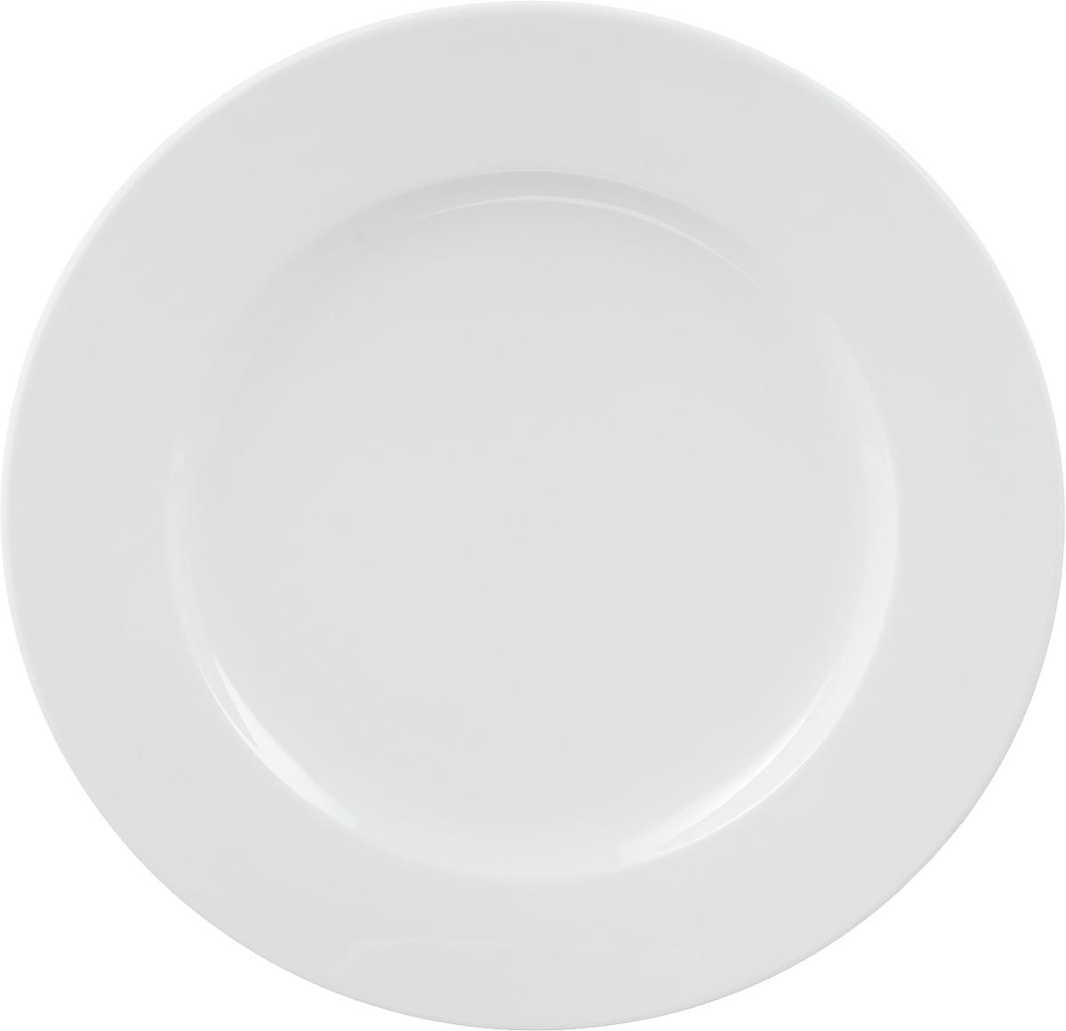 Тарелка мелкая Ariane Прайм, диаметр 31 смAPRARN11031Мелкая тарелка Ariane Прайм, изготовленная из высококачественного фарфора, имеет классическую круглую форму. Такая тарелка отлично подойдет в качестве блюда для сервировки закусок, нарезок, горячих блюд. Изделие прекрасно впишется в интерьер вашей кухни и станет достойным дополнением к кухонному инвентарю. Тарелка Ariane Прайм подчеркнет прекрасный вкус хозяйки и станет отличным подарком.Можно мыть в посудомоечной машине и использовать в микроволновой печи. Высота тарелки: 2 см.Диаметр тарелки: 31 см.