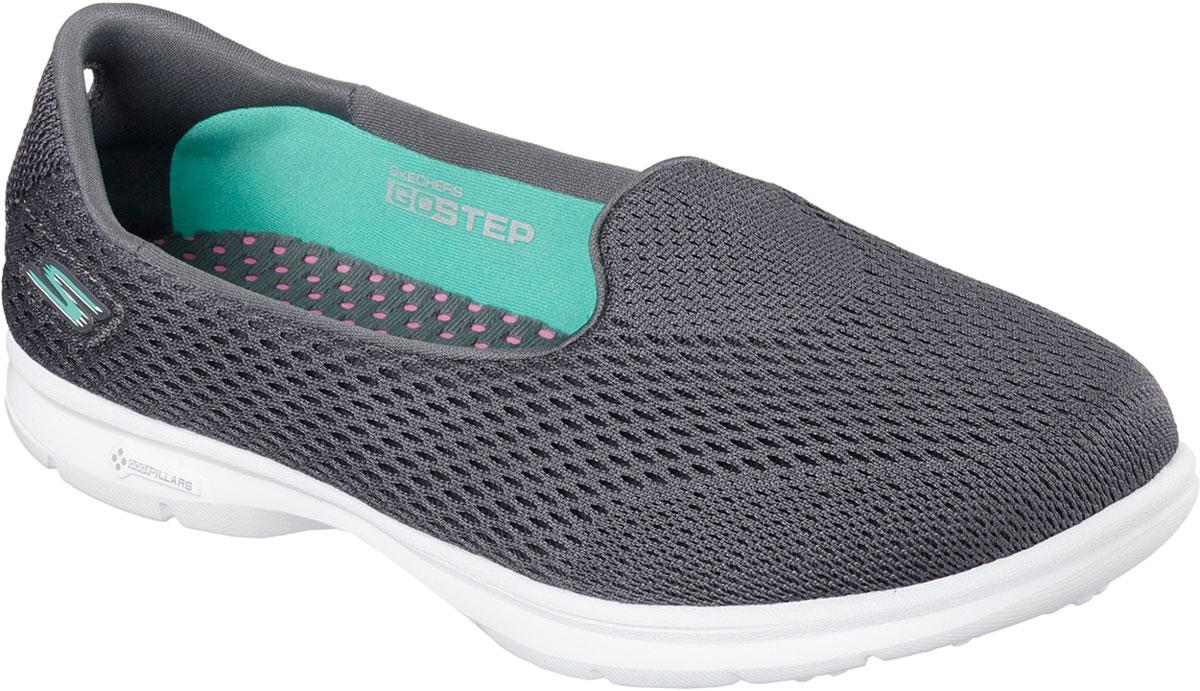 Купить Кроссовки женские Skechers Go Step-Shift, цвет: серый. 14221-CHAR. Размер 8, 5 (40)