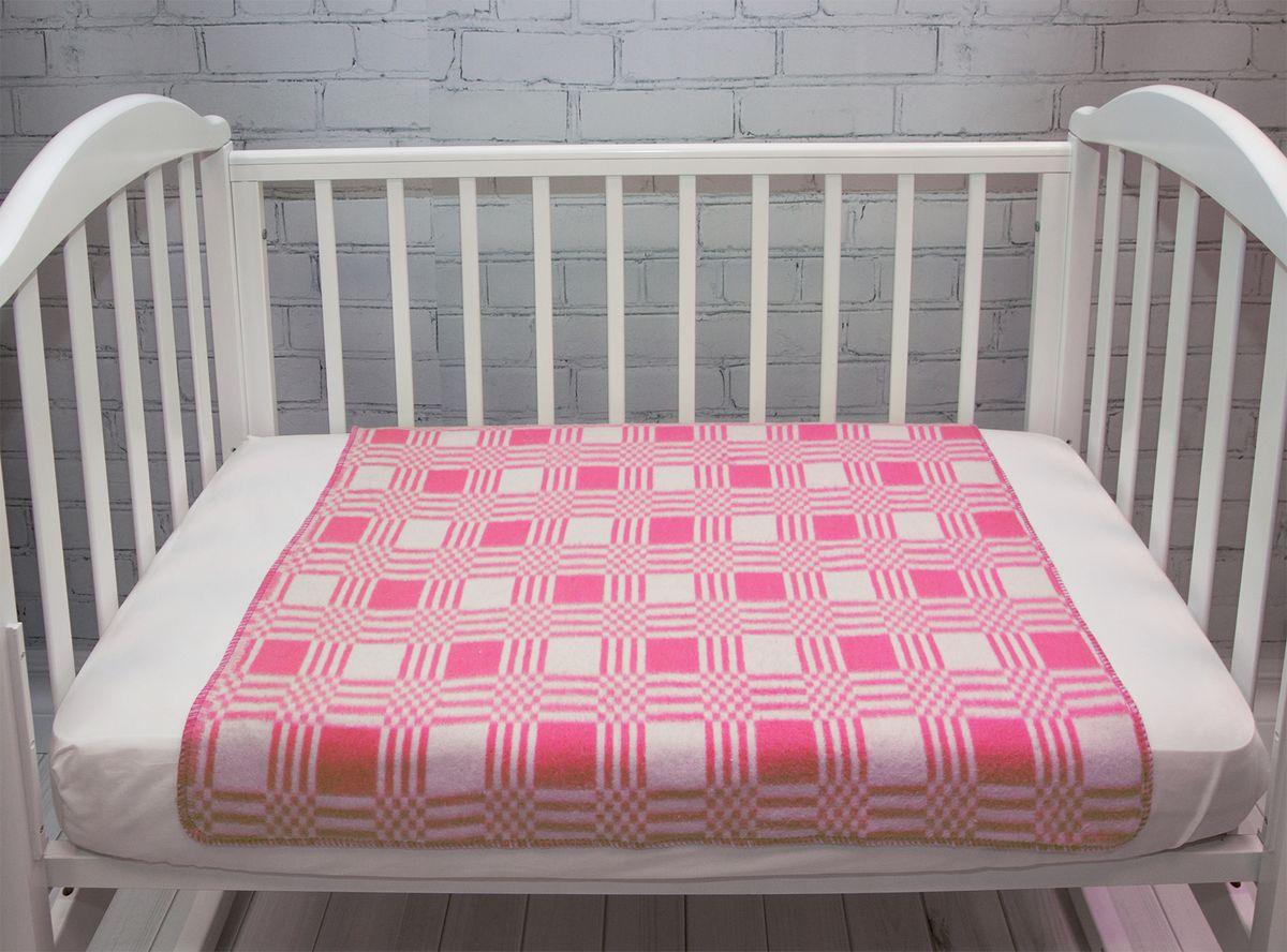 Baby Nice Одеяло детское Клетка цвет розовый