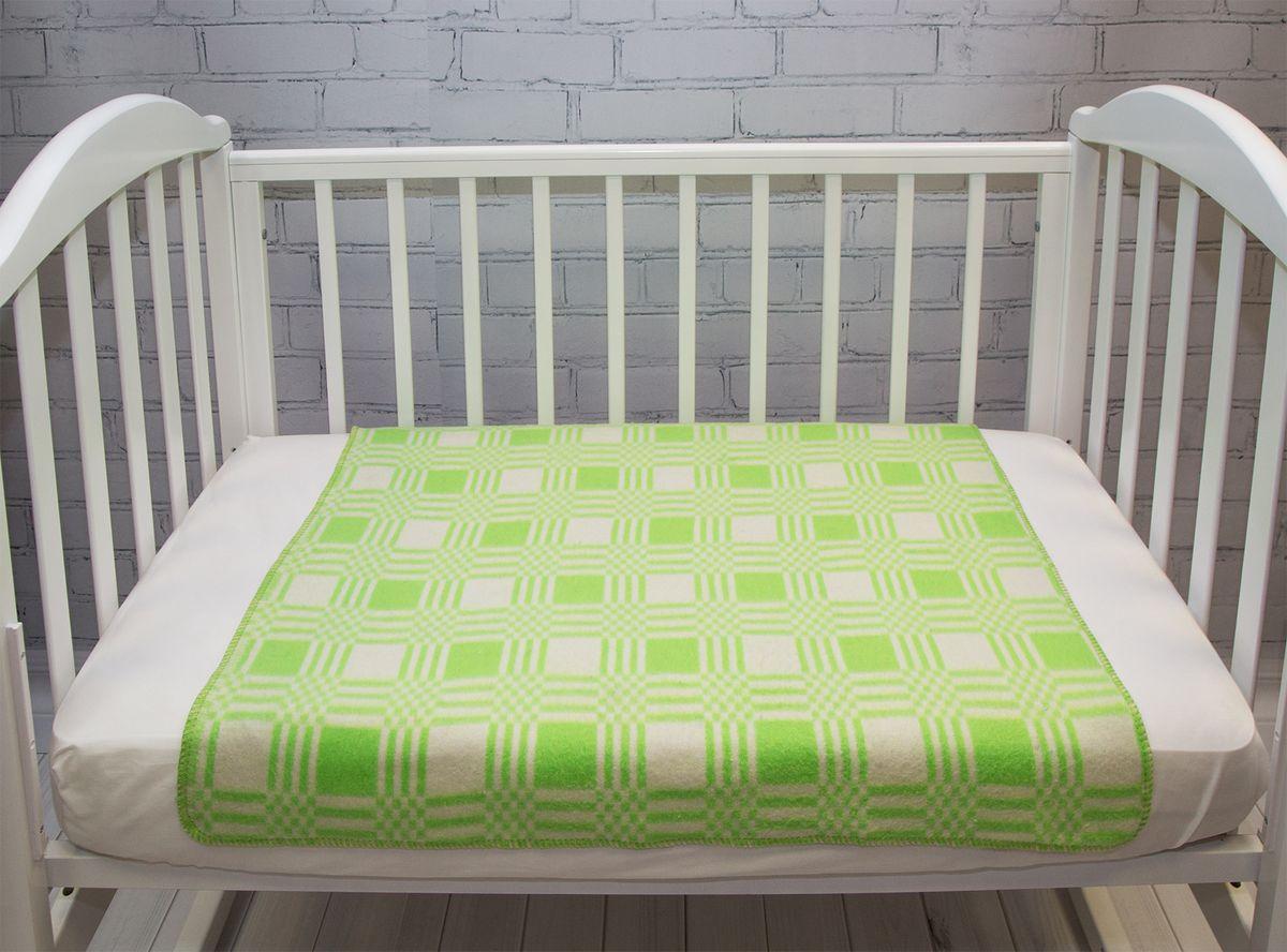 Baby Nice Одеяло детское Клетка цвет салатовый