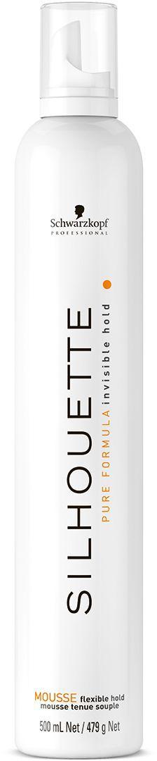 Silhouette Pure Безупречный мусс мягкой фиксации 500 мл1918707Безупречный мусс для волос мягкой фиксации. Для долговременной, невидимой, гибкой, подвижной и сияющей укладки без утяжеления волос. Эффект памяти формы, легко счесывается.