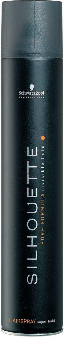 Silhouette Pure Hairspray Безупречный лак ультрасильной фиксации 500 мл