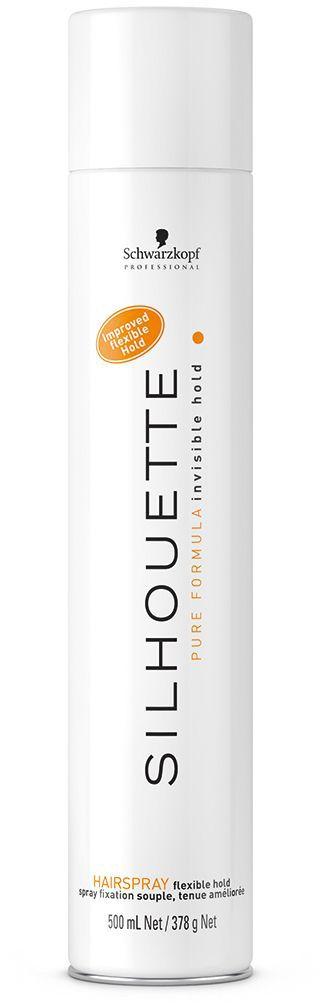 Silhouette Pure Hairspray Безупречный лак мягкой фиксации 500 мл1937476Безупречный лак для волос мягкой фиксации. Обеспечивает невидимую долговременную фиксацию, эластичный объем и сияние, не перегружая волосы. Эффект памяти формы, быстрое высыхание на волосах
