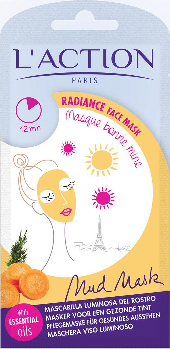 Laction Маска для хорошего цвета лица Bonne Mine, 15 г556176Эфирные масла моркови и кипариса в составе этой маски улучшают цвет лица, эктракт гинко-билоба придают лицу сияние и тонус, а кунжутное масло интенсивно увлажняет кожу.