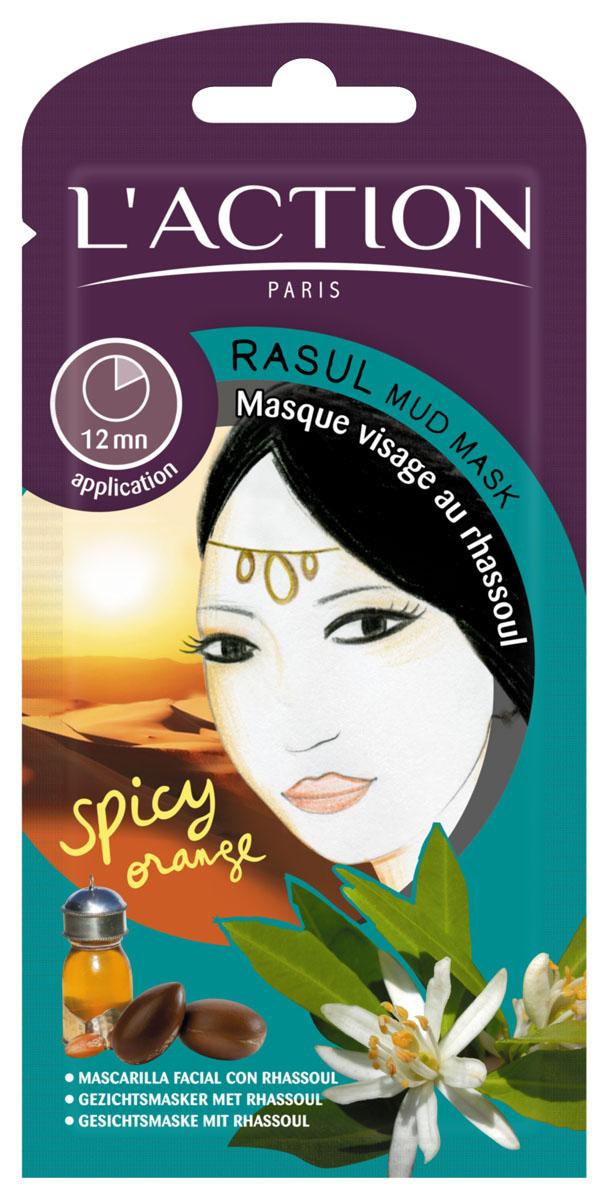 Laction Маска для лица с глиной расул Rasul Mud, 12 г713401Маска очищает и восстанавливает кожу. Расул - натуральная глина, используемая на протяжении веков, которую добывают в марокканских горах. Она богата минералами и витаминами, обладает превосходными очищающими свойствами и помогает коже избавиться от токсинов. Удаляет самые глубокие загрязнения и лишний кожный жир, не нарушая деликатный баланс кожи, поглощает излишки кожного сала и уменьшает поры. Сочетание арганового масла и витамина Е в составе маски помогает предотвратить старение. Это приглашение на Юг Средиземноморья.