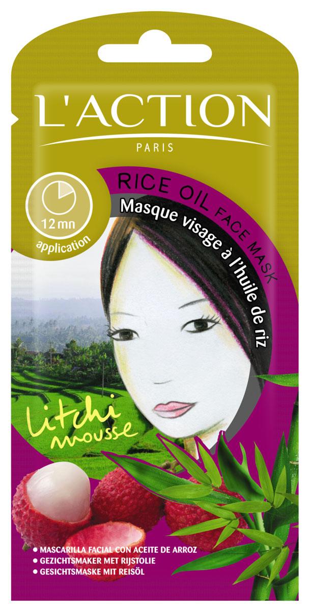 Laction Маска для лица с рисовым маслом Rice Oil, 12 г713402Маска с анти - возрастным и тонизирующим действием. Рисовое масло, богатое сильными антиоксидантными свойствами, успокаивает вашу кожу. Текстура маски обогащена экстрактом белой лилии - она защищает кожу от возрастных изменений. Исконно японские ингредиенты в составе этой маски, пробуждают кожу возвращая ей природное сияние и мягкость.