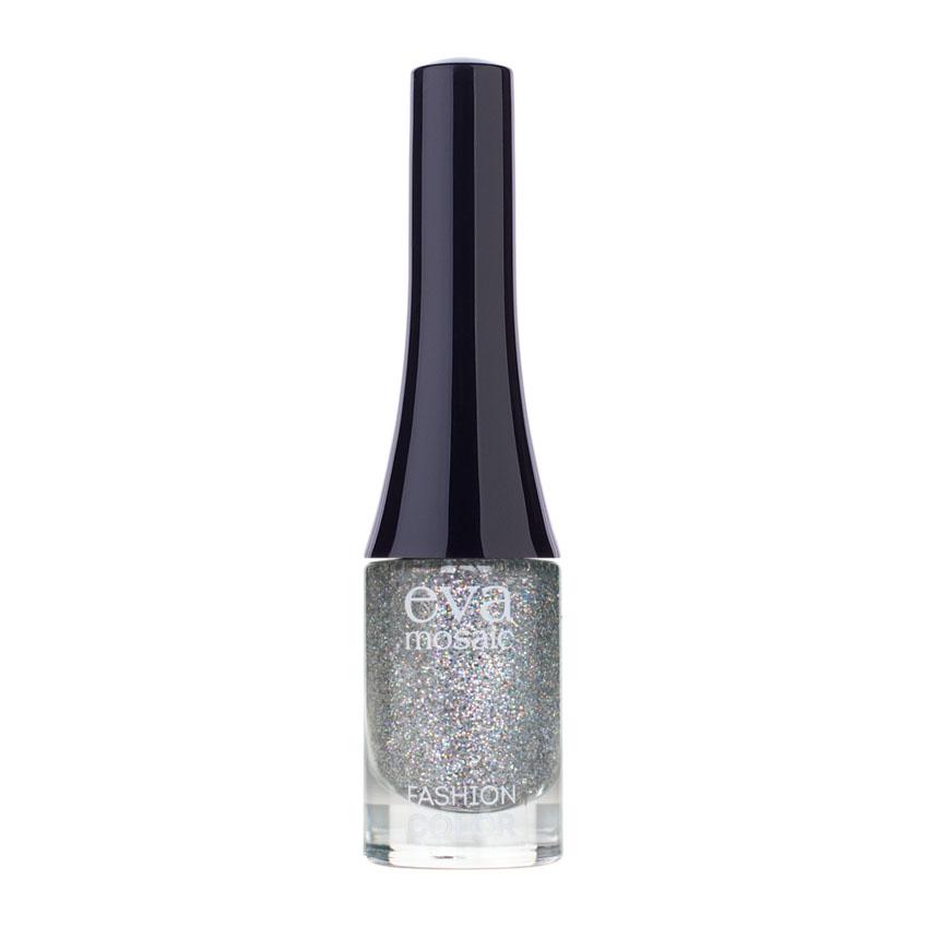 Eva Mosaic Лак для ногтей Fashion Color, 6 мл, 335829710Стойкие лаки для ногтей в экономичной упаковке небольшого объема - лак не успеет надоесть или загустеть! Огромный спектр оттенков - от сдержанной классики до самых смелых современных тенденций. - легко наносятся и быстро сохнут - обладают высокой стойкостью и зеркальным блеском - эргономичная плоская кисть для быстрого, аккуратного и точного нанесения.