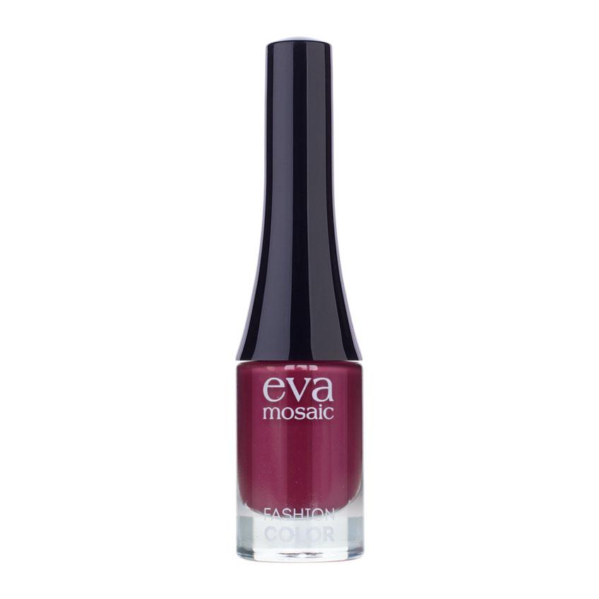 Eva Mosaic Лак для ногтей Fashion Color, 6 мл, 343830014Стойкие лаки для ногтей в экономичной упаковке небольшого объема - лак не успеет надоесть или загустеть! Огромный спектр оттенков - от сдержанной классики до самых смелых современных тенденций. - легко наносятся и быстро сохнут - обладают высокой стойкостью и зеркальным блеском - эргономичная плоская кисть для быстрого, аккуратного и точного нанесения.