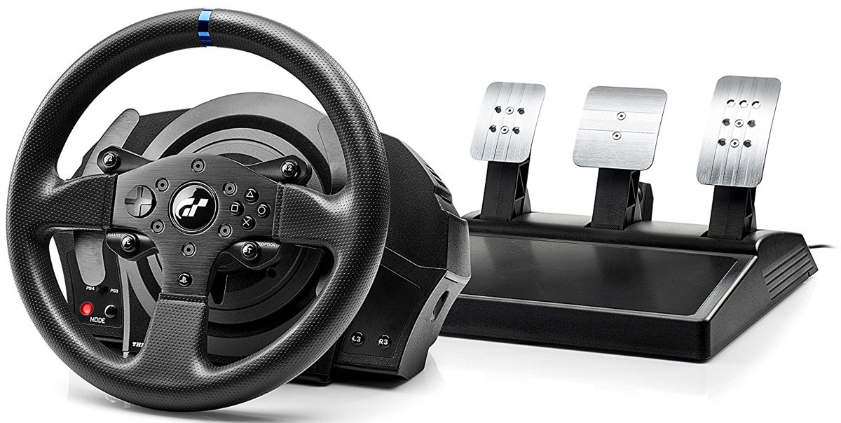 Thrustmaster T300 RS Gran Turismo Edition, PS4/PS3 руль гоночный руль thrustmaster t300 ferrari gte eu version для ps4 ps3 и pc