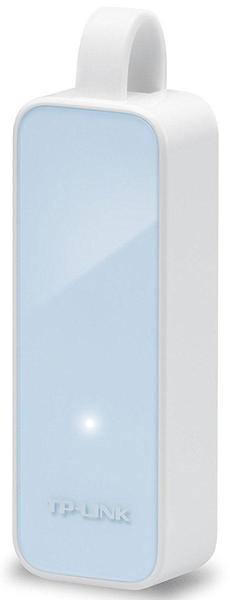 TP-Link UE200, White Blue сетевой адаптер