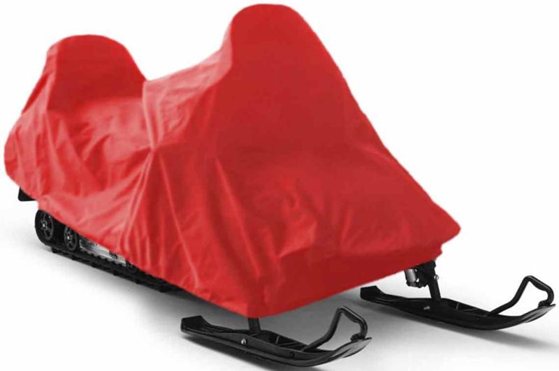 Чехол для снегохода Tplus  Polaris IQ LXT , цвет: красный - Мототовары, экипировка, аксессуары - Аксессуары