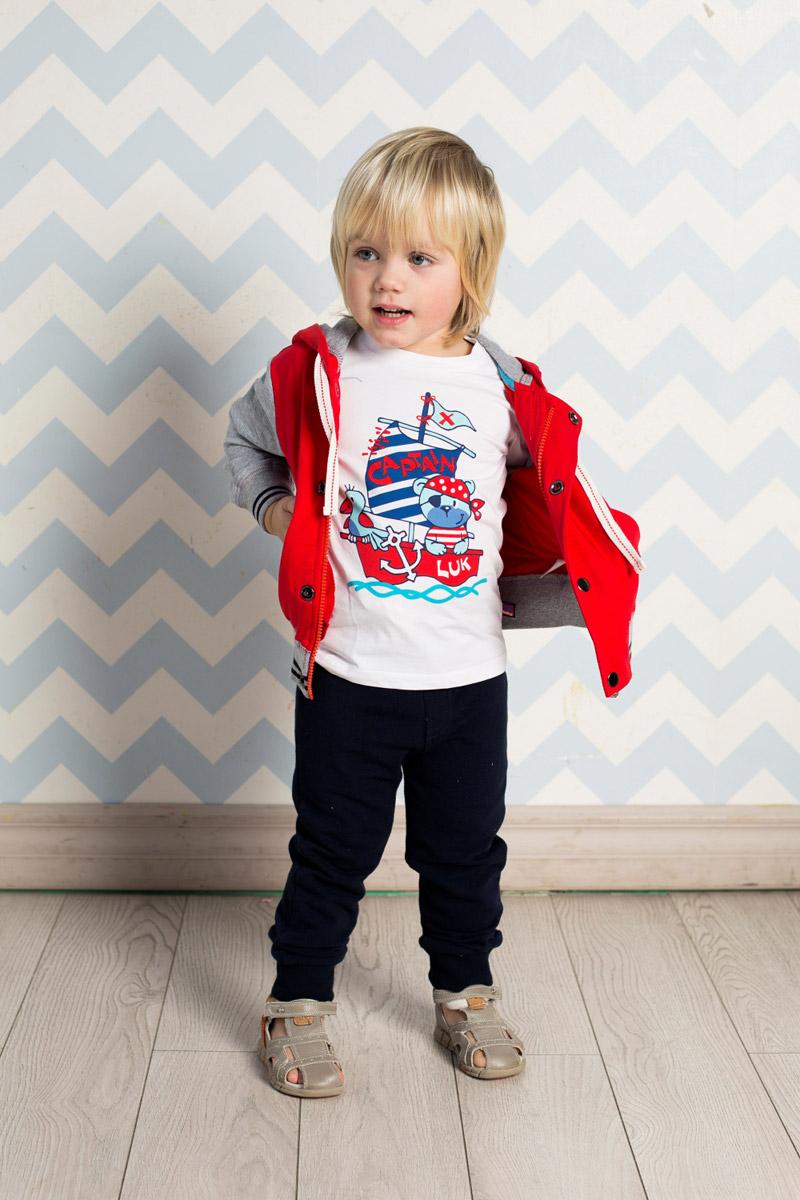 Толстовка для мальчика Sweet Berry Baby, цвет: красный, серый. 711063. Размер 86711063Стильная толстовка для мальчика Sweet Berry, изготовленная из качественного эластичного хлопка двух контрастных цветов, станет отличным дополнением к гардеробу вашего ребенка. Модель с капюшоном, дополнительно регулируемым шнурком, застегивается на молнию и на планку с кнопками. Полочку украшает яркая вышивка. Манжеты рукавов и низ изделия дополнены мягкими трикотажными резинками с контрастными полосками.