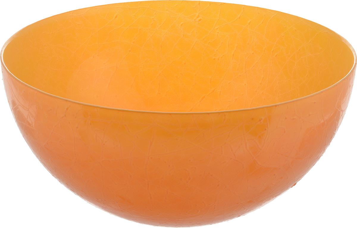 Салатник NiNaGlass Шеф, цвет: желто-оранжевый, диаметр 28 см83-089-Ф280 Ж-ОржСалатник NiNaGlass Шеф выполнен из высококачественного стекла. Он прекрасно подойдет для подачи различных блюд: закусок, салатов или фруктов. Изделие отлично впишется в интерьер вашей кухни и станет достойным дополнением к кухонному инвентарю. Не рекомендуется мыть в посудомоечной машине.Диаметр салатника (по верхнему краю): 28 см.Высота салатника: 13 см.
