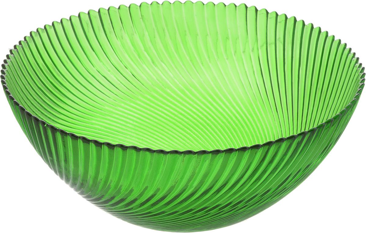 Салатник NiNaGlass Альтера, цвет: зеленый, диаметр 25 см83-039-ф250 ЗЕЛСалатник NiNaGlass Альтера выполнен из высококачественного стекла и декорирован рельефным узором. Он подойдет для сервировки стола как для повседневных, так и для торжественных случаев.Такой салатник прекрасно впишется в интерьер вашей кухни и станет достойным дополнением к кухонному инвентарю. Подчеркнет прекрасный вкус хозяйки и станет отличным подарком.Не рекомендуется использовать в микроволновой печи и мыть в посудомоечной машине.Диаметр салатника (по верхнему краю): 25 см.Высота стенки: 10,5 см.