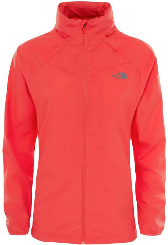 Ветровка женская The North Face W Rapida Jacket, цвет: красный. T92UXWNXG. Размер XS (40) the north face women's venture jacket