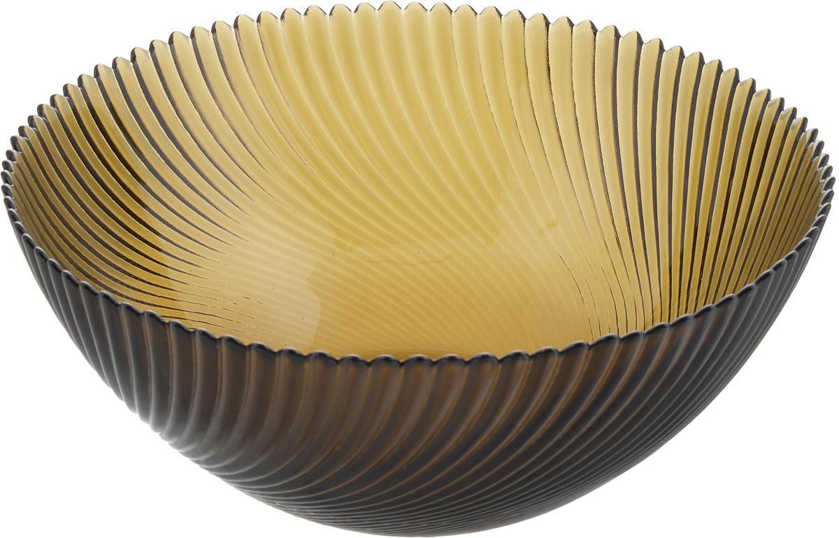 """Салатник NiNaGlass """"Альтера"""" выполнен из высококачественного стекла и декорирован рельефным узором. Он подойдет для сервировки стола как для повседневных, так и для торжественных случаев.Такой салатник прекрасно впишется в интерьер вашей кухни и станет достойным дополнением к кухонному инвентарю. Подчеркнет прекрасный вкус хозяйки и станет отличным подарком.Не рекомендуется использовать в микроволновой печи и мыть в посудомоечной машине.Диаметр салатника (по верхнему краю): 25 см.Высота стенки: 10,5 см."""