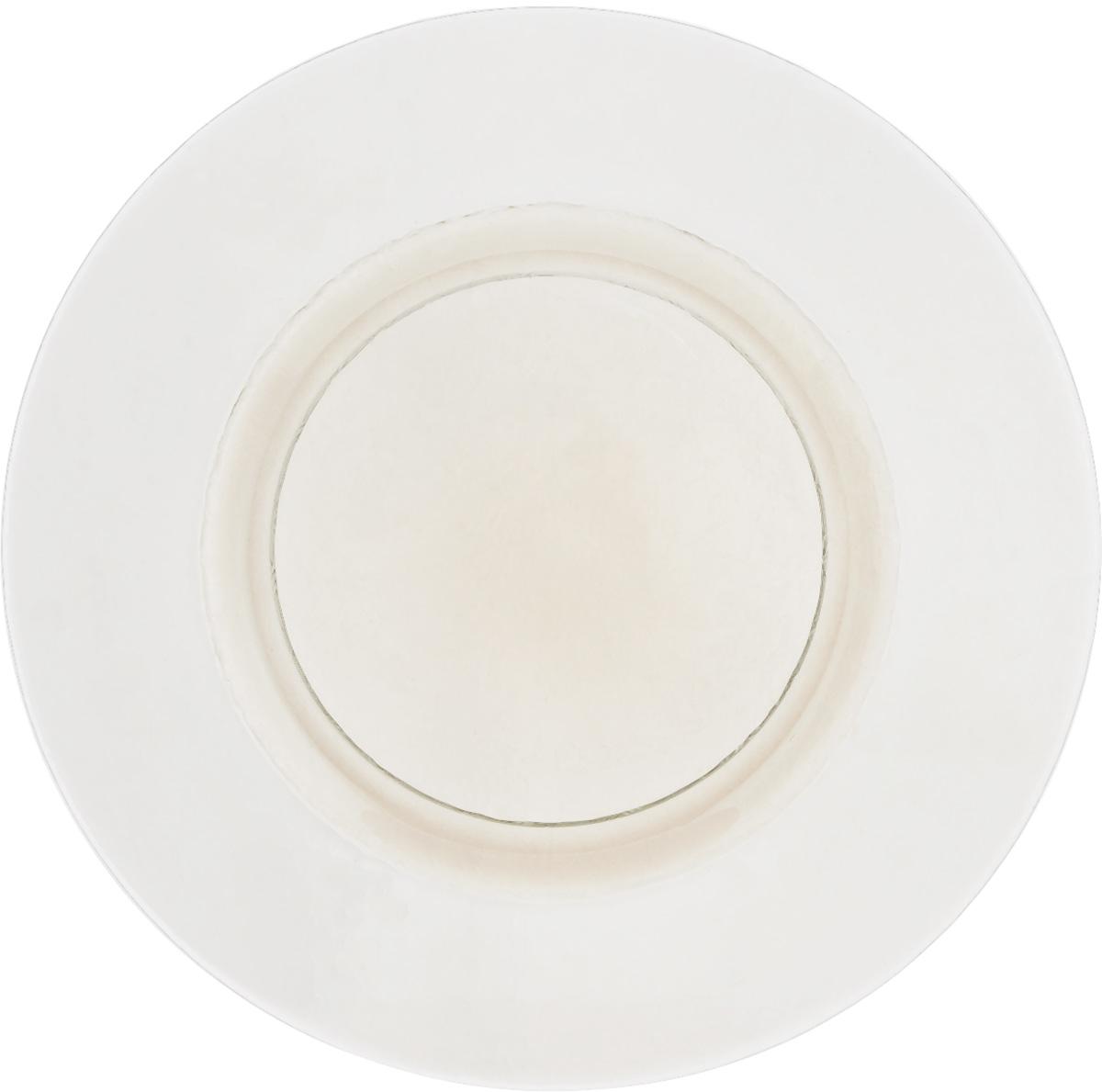 Тарелка NiNaGlass Богемия, цвет: прозрачный, диаметр 32,5 см83-056-Ф320 СМОКИТЕРМТарелка NiNaGlass Богемия выполнена из высококачественного стекла. Она прекрасно впишется в интерьер вашей кухни и станет достойным дополнением к кухонному инвентарю.Не рекомендуется использовать в микроволновой печи и мыть в посудомоечной машине.