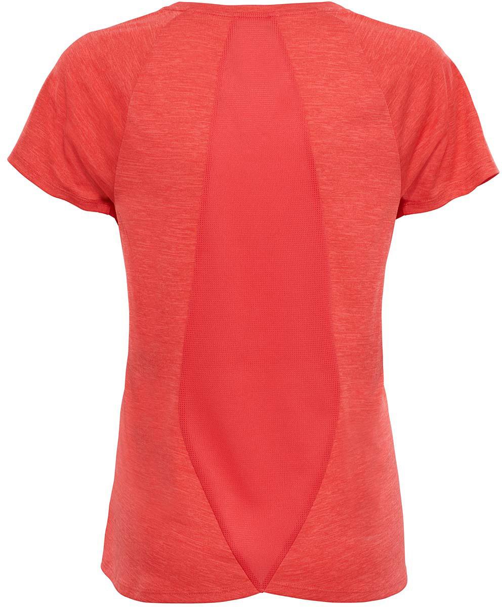Женская футболка The North Face - отличный вариант для каждодневного использования. У модели укороченные рукава и женственный V-образный вырез.