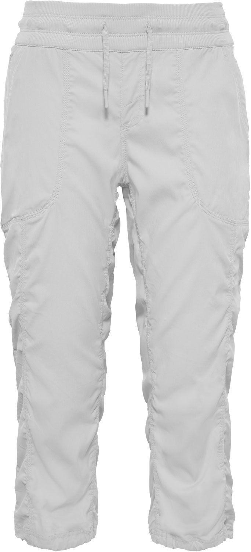Капри женские The North Face W Aphrodite Capri, цвет: белый. T92UO6PLV. Размер XS (40)T92UO6PLVКапри женские The North Face изготовлены из качественной смесовой ткани. Модель выполнена с широкой резинкой и шнурком-утяжкой на поясе. Изделие дополнено карманами.