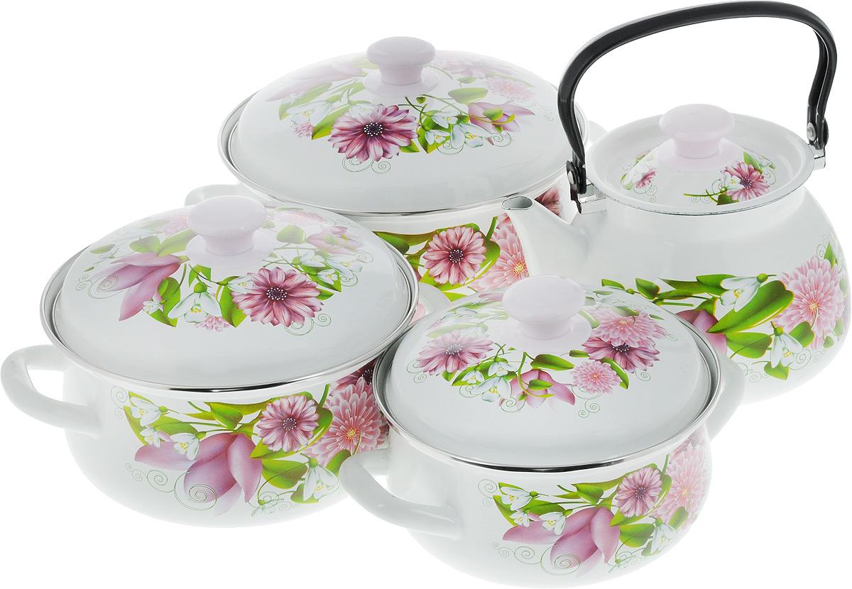 Набор посуды КМК  Весна , 8 предметов - Посуда для приготовления